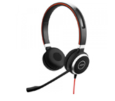Jabra Evolve 40 MS Duo - gecertificeerd voor Skype Business StereoHeadset