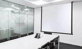Plafondinbouw projectieschermen