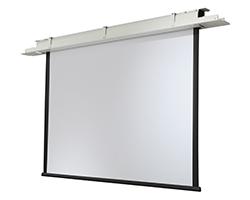 plafond inbouw projectiescherm