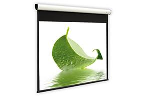 DELUXX Cinema Elegance elektrisch projectiescherm 213 x 169 cm mat wit Varico Flat