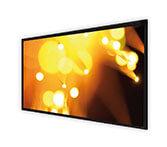 DELUXX Cinema scherm met frame elegance 213 x 133 cm