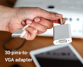 30-pins-to-VGA adapter