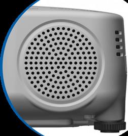 Projector met geïntegreerde luidspreker?