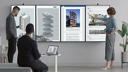 Microsoft Surface Hub2 - Speciaal voor teams ontwikkeld
