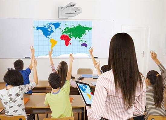 Beamer voor onderwijsinstellingen